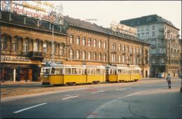 RX41 HUNGARY Budapest Trams 3052? C13cmx8.5cm - Photographs