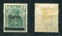 Saargebiet Michel-Nr. 4aI Ungebraucht - 1920-35 Saargebiet – Abstimmungsgebiet