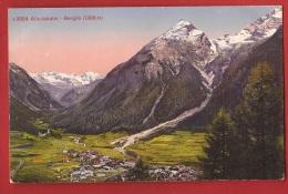 CGR2-09  Engadin Albulabahn   Bergün.  Stempel Territorialkreis 8. Feldpost - GR Grisons