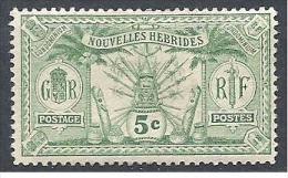 NOV-HEBRIDES  N� 38  NEUF* TTB / 2 SCANS