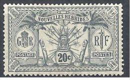 NOV-HEBRIDES  N� 29  NEUF* TB / 2 SCANS