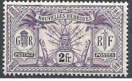 NOV-HEBRIDES  N� 36  NEUF* TTB / 2 SCANS