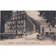 FRATP0818-LFTP2220TFRHPOM Tarjeta Postal DE FRANCIA.CAUTERETS,Edifici O,calle Y Coche De Caballos - Otros Municipios