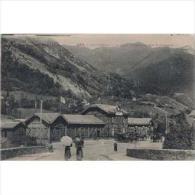 FRATP0819-LFTP2224TFRHPOM Tarjeta Postal DE FRANCIA.CAUTERETS,Cabañas En La Montaña - Otros Municipios