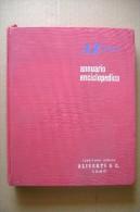 PCG/41 ANNUARIO ENCICL.- AGENDA 1954 Tessitura Aliverti/Fausto Coppi/Ferrovie/Alpinismo/ Dirigibile Norge - Enciclopedie