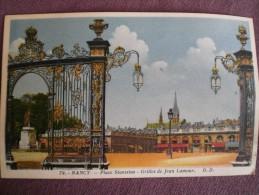 Place Stanislas -grille De Jean Lamour - Nancy