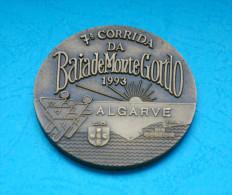 Athletics/athlétisme - Portugal - Corrida Da Baia De Monte Gordo - 1993 - 5 Cm. Diameter - Atletismo