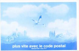 Plus Vite Avec Le Code Postal - Ministère Des PTT - Postal Services
