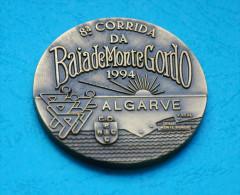 Athletics/athlétisme -  Portugal - Corrida Da Baia De Monte Gordo - 1994 - 5 Cm. Diam. - Profesionales / De Sociedad