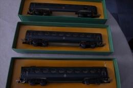 LOT De 8 Wagons HO JEP  Dont 3 Avec Boites Origines - Sin Clasificación