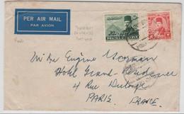 EGYPTE - 1953 - ENVELOPPE De PORT SAÏD Avec OBLITERATION De PAQUEBOT - Ägypten