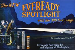 @@@ MAGNET - Eveready Spotlight - Publicitaires