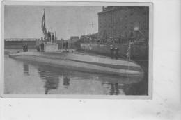 """CPA DU SOUS-MARIN ALLEMAND  """" U C 5 """" / MOUILLEUR DE MINES - Submarinos"""