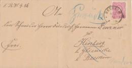 DR Brief EF Minr.41 Beeskow 4.2.86 Irrläufer Nachv. Stempel Beeskow Ansehen !!!!!!!!!!!!! - Briefe U. Dokumente