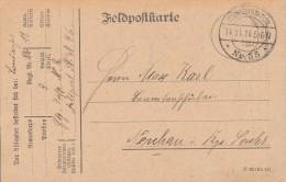 DR Feldpostkarte 14.11.14 Grabdenkmal In Vouziers Ansehen !!!!!!!!!!!!!! - Deutschland