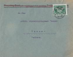 DR Ortsbrief EF Minr.370 Passau 10.10.25 - Deutschland