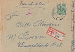 Bizone R-Brief EF Minr.51II Coppenbrügg 4.8.48 - Bizone
