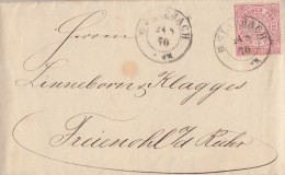 NDP Brief EF Minr.16 B. Gladbach 24.8.70 - Norddeutscher Postbezirk