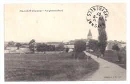 CPA Palluaud Charente Vue Générale Nord édit JSD N°618 écrite Timbrée 1907 Très Bon état - France