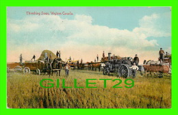 AGRICULTURE - CULTURE - CHRESHING SCENE, WESTERN CANADA - WELL ANIMATED - TRAVEL IN 1913 - THE PUGH SPECIALTY CO LTD - - Cultures
