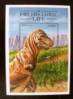 OUGANDA PREHISTORIC LIFE Animaux Prehistoriques, Prehistorics Animals  (BLOC 1°**  MNH Neuf Sans Charniere - Prehistorics