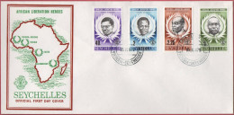 Seychelles FDC 015 - 05.06.1979 African Liberation Heroes - Seychelles (1976-...)