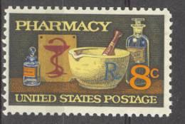 USA UNITED STATES 1972 MCHL 1089 PHARMACY MNH ** POSTFRIS NEUF - Neufs