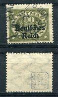 D. Reich Dienst Michel-Nr. 45 Gestempelt - Geprüft - Dienstzegels