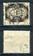 D. Reich Dienst Michel-Nr. 46 Gestempelt - Geprüft - Dienstzegels