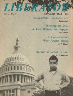 LIBERATOR 1965 Voice Of The African-American - Sociologia/ Antropologia