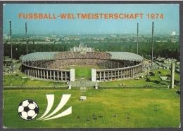 Berlin, Olympiastadion - Fußball-weltmeisterschaft 1974 - Coupe Du Monde - Coppa Del Mondo - World Cup - Football 1974 - Football
