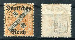 D. Reich Dienst Michel-Nr. 61 Vollstempel - Geprüft - Dienstzegels