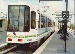 RX58 FRANCE Photograph Nantes TAN Tram M1.005 In 1985 C12.5cm X 9cm - Zonder Classificatie