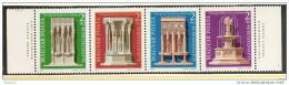1978 Ungheria Hungary PATRIMONIO ARCHITETTONICO Serie Di 4v. (2447/50) MNH** Striscia - Ungheria