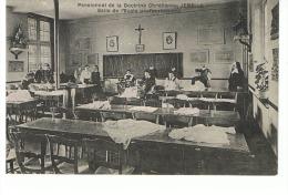 JMF19.17 / JEMELLE / PENSIONNAT DE LA DOCTRINE CHRETIENNE /  SALLE DE L ECOLE PROFESSIONNELLE  ( Animée ) - Rochefort