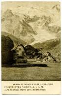 036> ALPE PEDRIOLA Metri 2075 Monte Rosa - Cappelletta Votiva A. E G. M. - 1929 Timbro SEM - Novara
