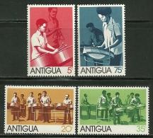 "Antigua    ""Traditional Steel Band""       Set    SC# 341-44   MNH** - Antigua & Barbuda (...-1981)"