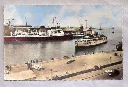 """CPSM - Bateau - Boulogne-sur-Mer (62) - 6136. Arrivée Du """"Quenn Of The Channel"""" - Veerboten"""