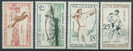 1958 FRANCIA GIOCHI TRADIZIONALI MNH ** - EDF090 - France