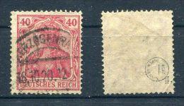 D. Reich Michel-Nr. 145II Gestempelt - Geprüft - Deutschland