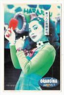 Publicité - Orangina - Jeune Femme Japonaise (Harajuku, Tokyo ) - Publicité