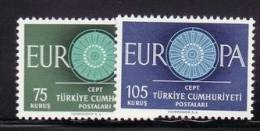 TURKEY 1960 EUROPA CEPT SET MNH - Europa-CEPT