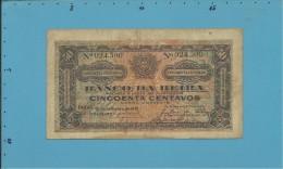 MOZAMBIQUE - 50 Centavos - 15.09.1919 - P R3a - Hand Sign At Left - BANCO DA BEIRA - PORTUGAL - Mozambique