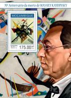 M14129b Mozambique 2014 Art Painting Wassily Kandinsky S/s - Arts