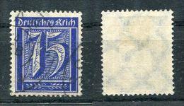D. Reich Michel-Nr. 185 Zweikreis-Stempel - Used Stamps