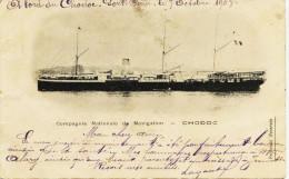 5329 - Bateaux - Paquebot   *  CHODOC *   Compagnie Nationale De Navigation     1903 - Dampfer