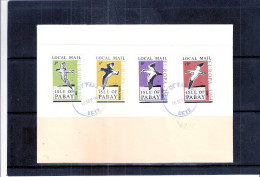 FDC Isle Of Pabay - Europa 1964 - Oiseaux  (à Voir) - Local Issues