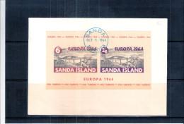 FDC Sanda Island  - Europa 1964 - Ponts  (à Voir) - Local Issues