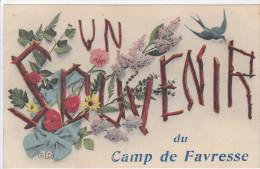 Favresse Un Souvenir Du Camp De Favresse - France