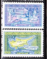 Turkey 1960 Independence Of Republic Of Cyprus MNH - 1921-... République